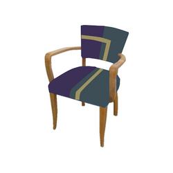fauteuil bridge coloré