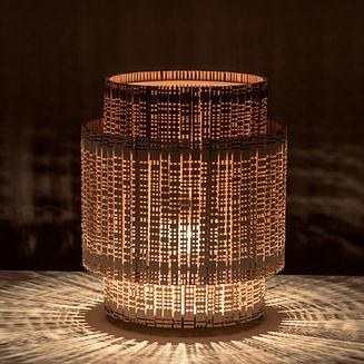 lanterne design en bois