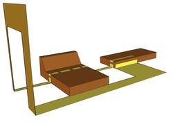 dessin d'installation fauteuil-espac