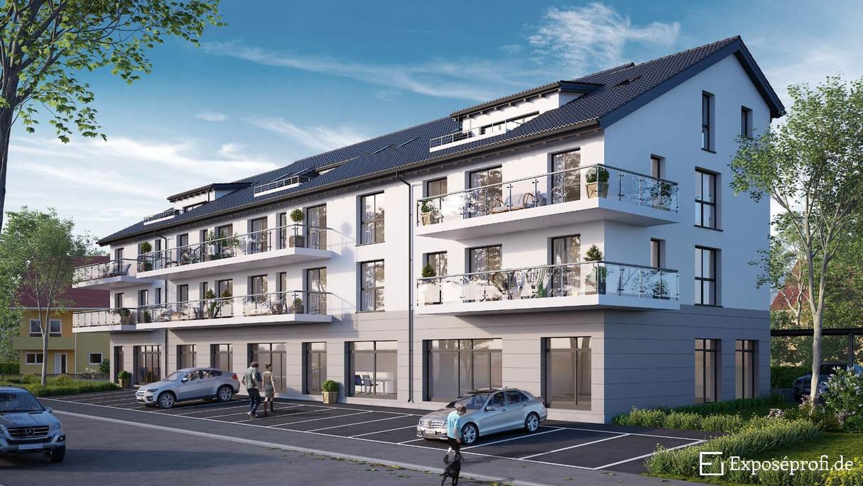Beispiel Außenvisualisierung Immobilie
