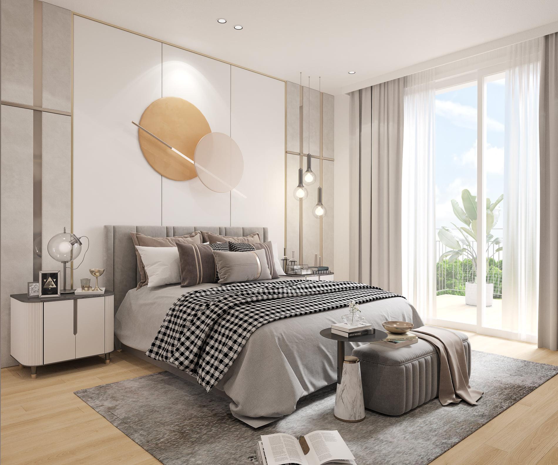 Innenvisualisierung Referenz Schlafzimme