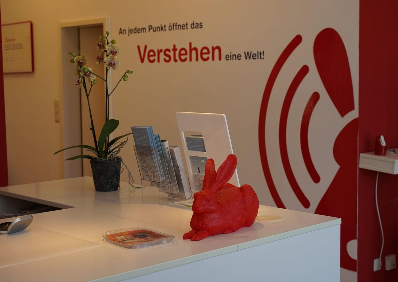 Innenraum Hörwelt Gossner - Hörgeräte Nürnberg. Ihrem Hörgeräteakustiker in Nürnberg.