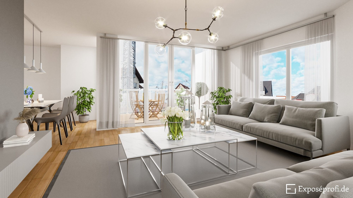 Immobilien Innenvisualisierung