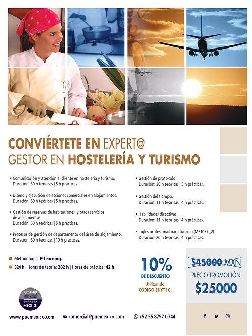 Curso Superior Experto / a Gestor en Hostelería y Turismo.