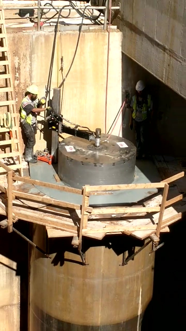 Video of Core Drilling