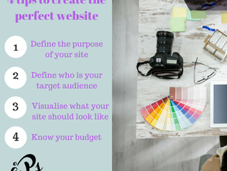 4 Tips to Create your Perfect Website