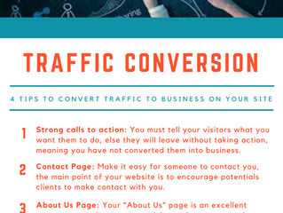 Tips to Convert Traffic to Business on your site