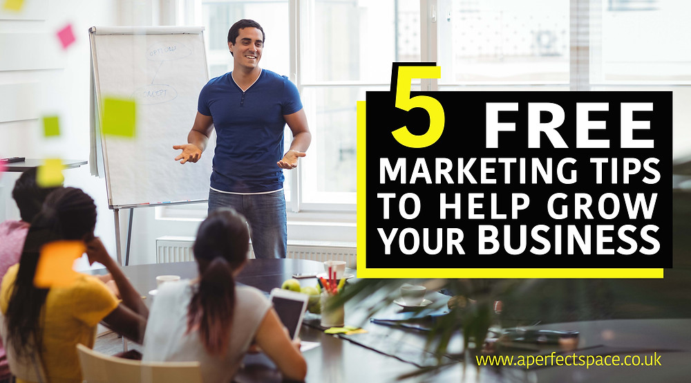 5 FREE marketing tips to help grow your business