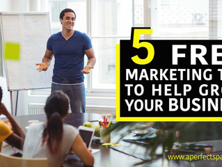 5 FREE Marketing Tips to Help Grow Your Small Business
