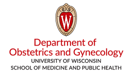 University of Wisconsin School of Medicine and Public Helth Department of Obstetrics and Gynecolgy Logo