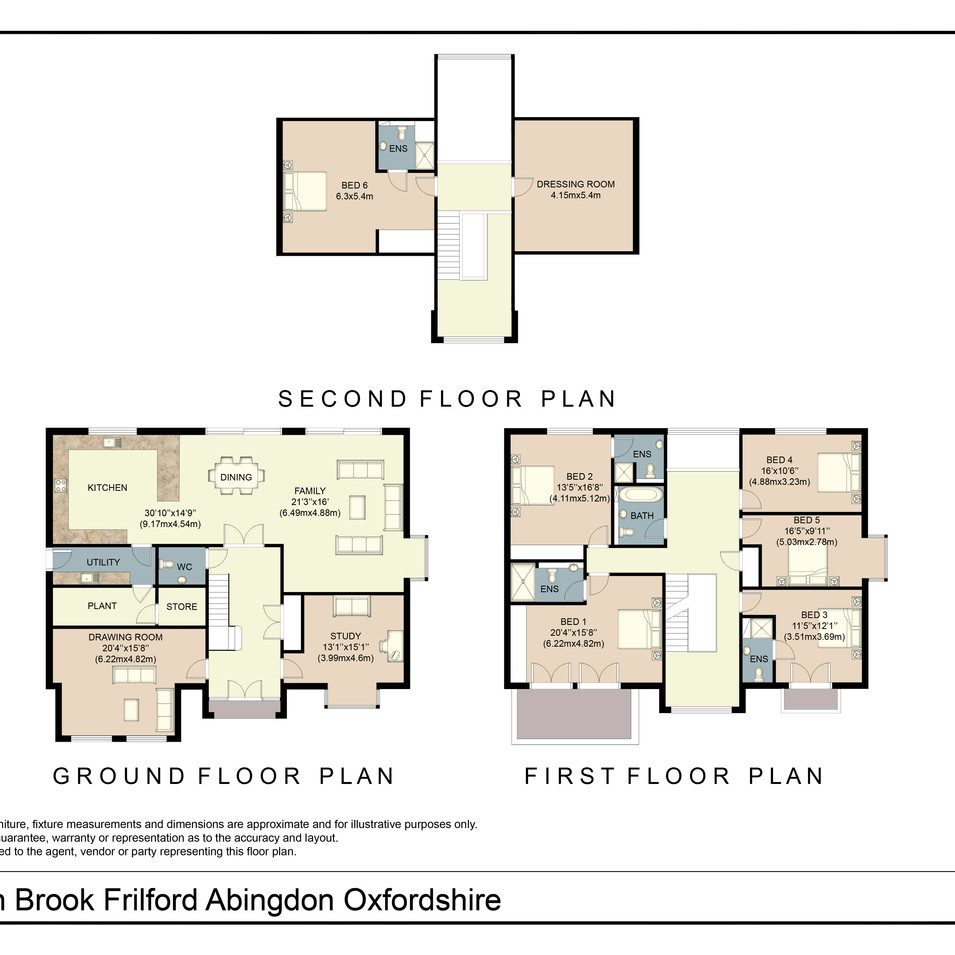 Floorplan plot 6 Hidden Brook