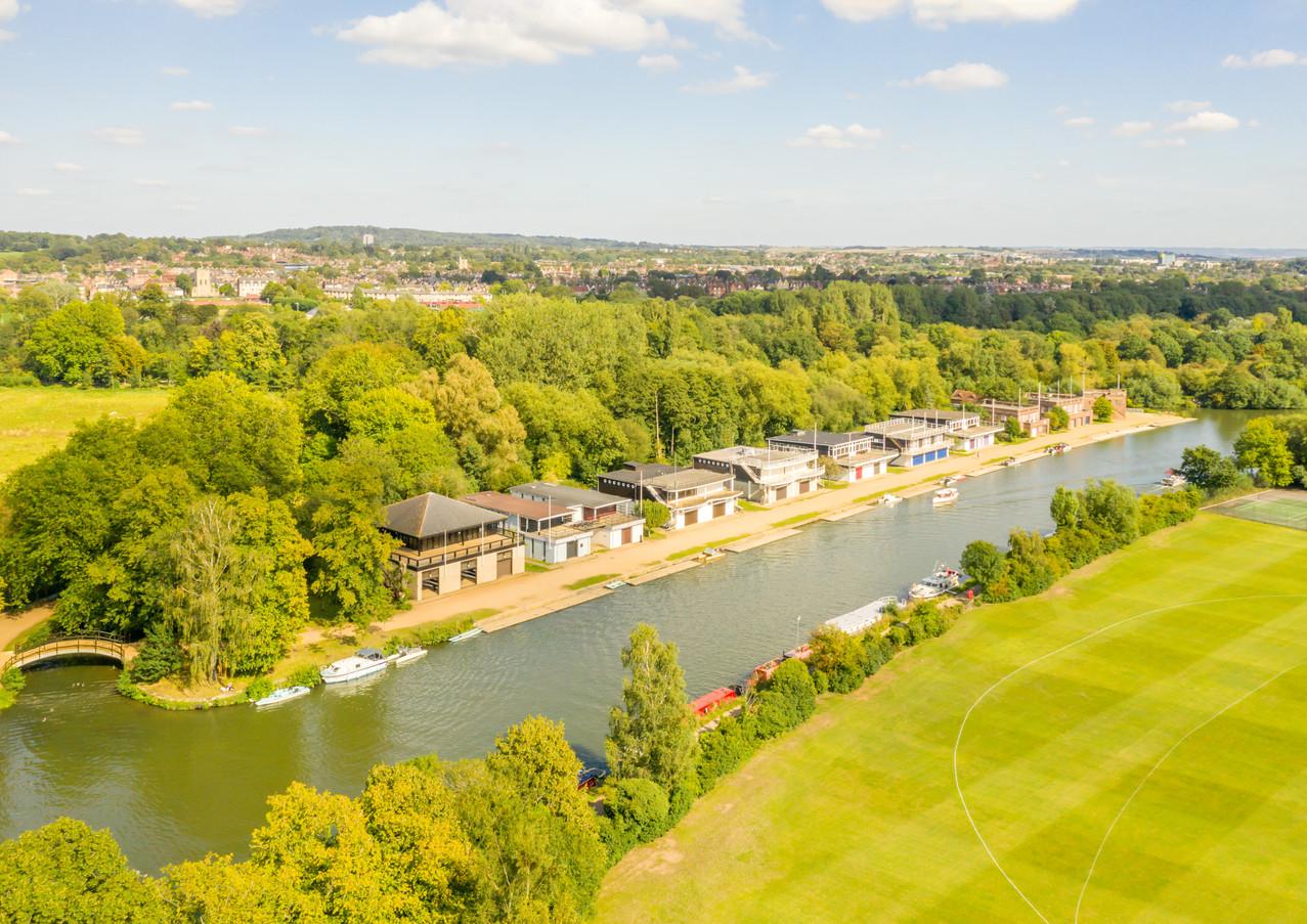 Oxford Uni rowing club houses