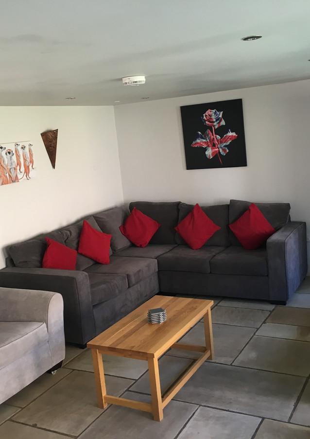 Living room of Malt Barn