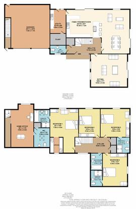 Floorplan plot 4 Hidden Brook