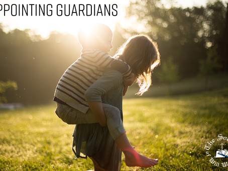 Guardianship – What would happen to your children if you died?