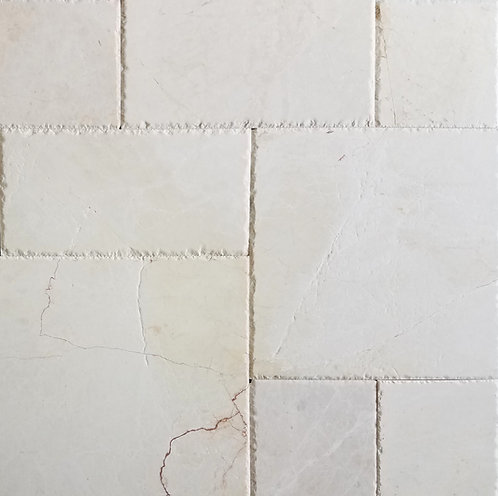 Alpine White | Marble Tile French Pattern