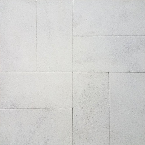 Carrara Sandblasted | Marble Pavers