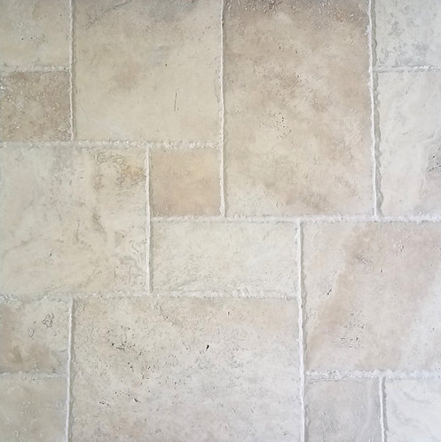 Tuscany Ivory | Travertine Tile Versailles Pattern