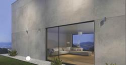 Vista Grey porcelain tile...