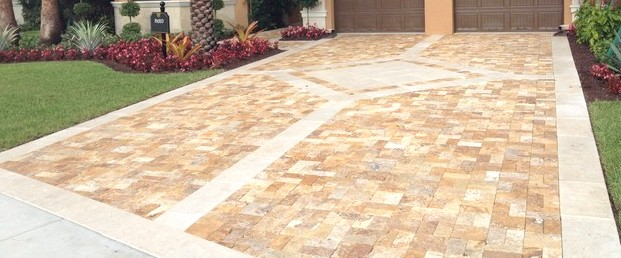 gold trv pavers