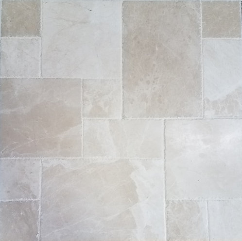 Crema Bella | Marble Tile French Pattern