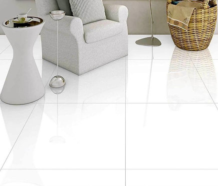 Super White | 24x24 Porcelain Tile