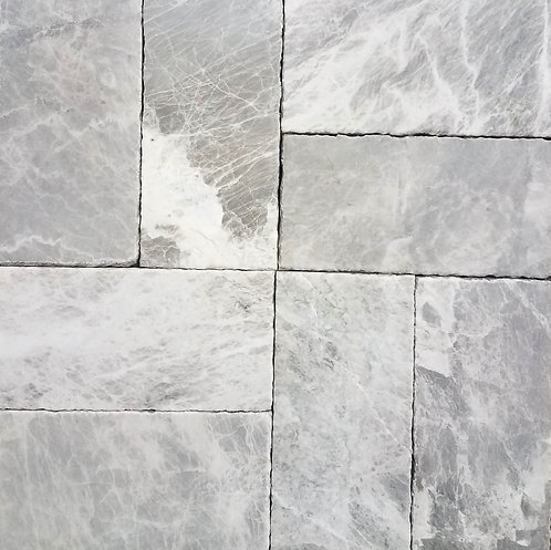 Imperial Silver | Marble Pavers
