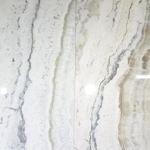 Onyx Pearl | 24x48 Porcelain Tile