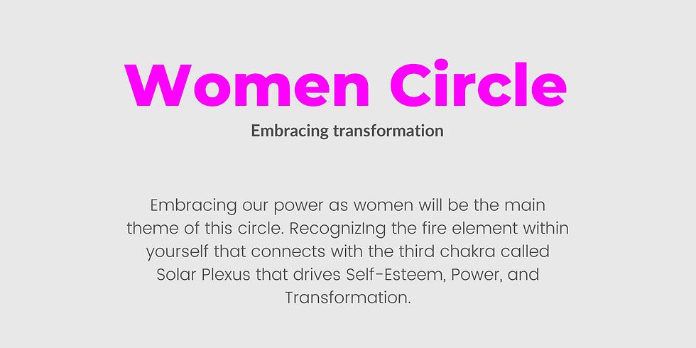 Women Circle - Embracing transformation