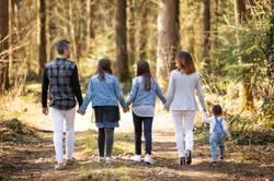 Familien Foto-Shooting draussen Outdoor