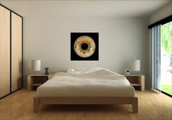 Augen Kunst im Schlafzimmer