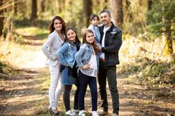Familien Fotoshooting draussen Outdoor