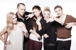 Familien Fotoshooting im Fotostudio