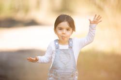 Tochter Familien Fotoshooting draussen Outdoor
