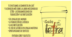 Armamos un Café LETRA en tu iglesia?