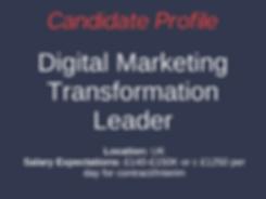 Financial Careers Ltd Candidate Digital