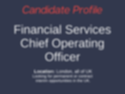 Financial Careers Ltd Candidate Financia