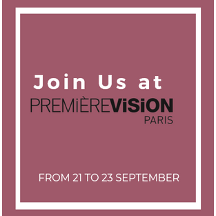 Join us at Première Vision, from 21 to 23 September!