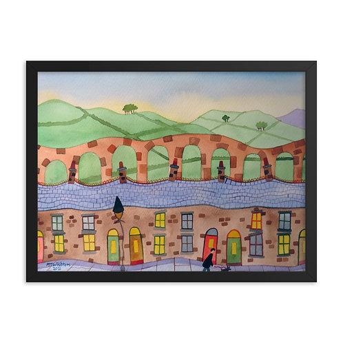 Pennine View Framed Print