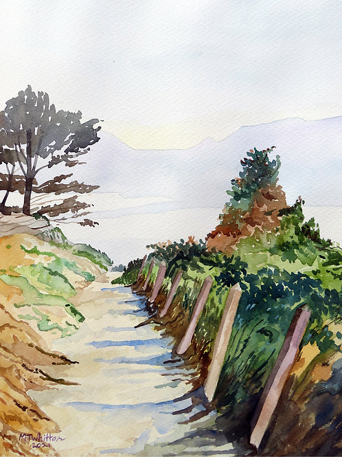 The Path to Ynys Cyngar