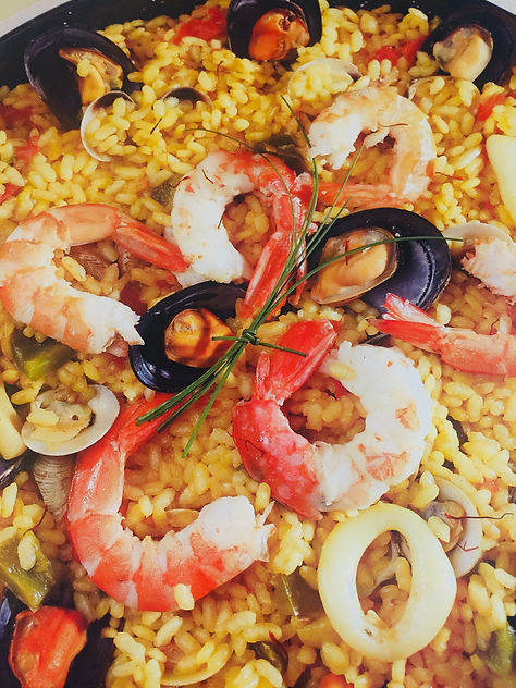 Paella de Marisco en Paella Company