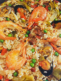 Paella Mixta en Paella Company