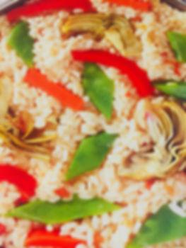 Paella de Verduras en Paella Company