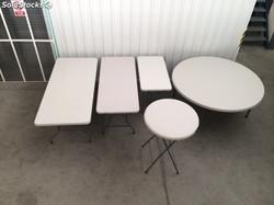 mesas plegables