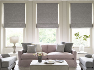 How to hang Roman Blinds!
