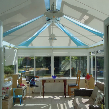 Conservatory Roof Sails