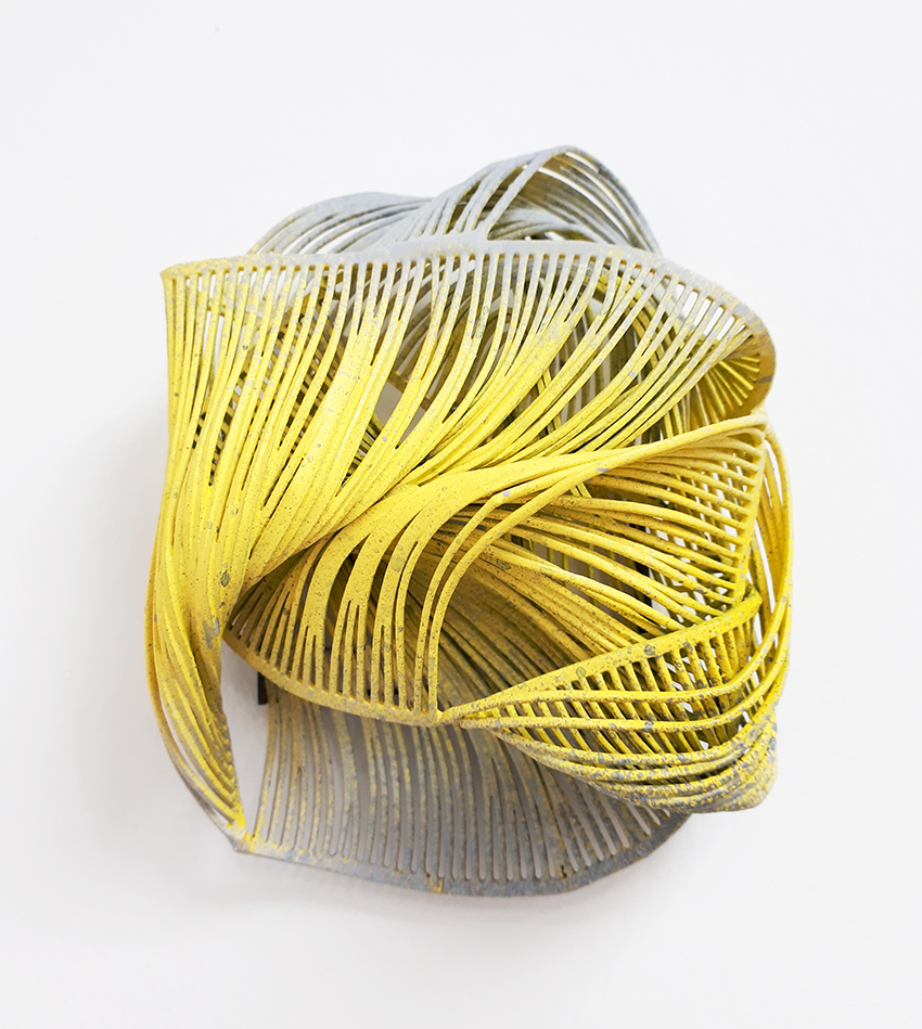 brooch beautiful unique yellow