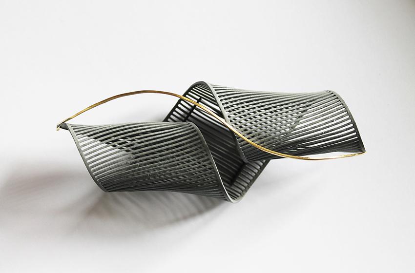 jewellery brooch gold unique design