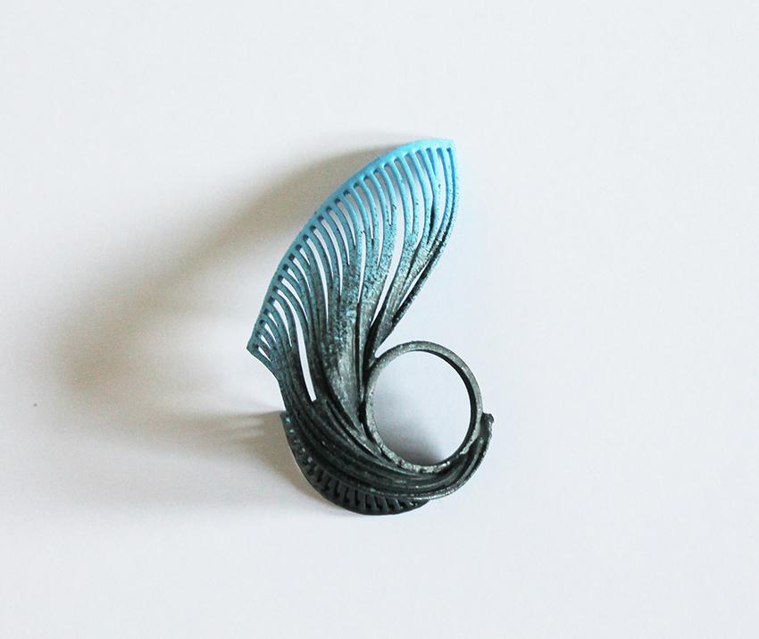 jewellery ring beautiful blue