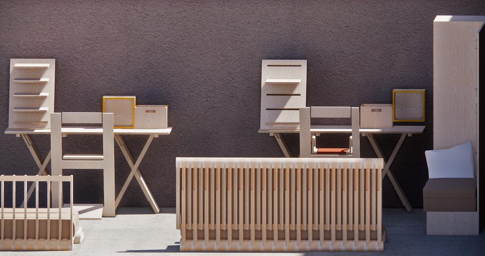 Invisible Furniture enscape screenshot 0